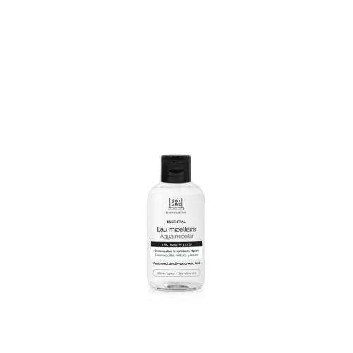 Agua micelar Essential Soivre Cosmetics
