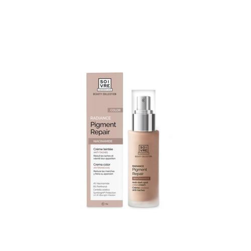 Crema facial color Radiance pigment Repair Soivre Cosmetics