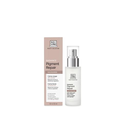 Crema facial Radiance pigment Repair Soivre Cosmetics