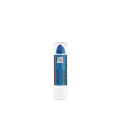 WOW lips azul Soivre Cosmetics