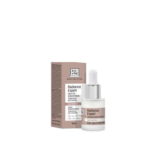 gotas anti-manchas radiance expert Soivre Cosmetics niacinamida
