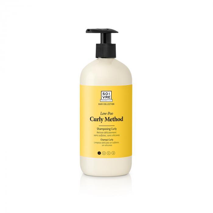 champú low poo curly method soivre cosmetics