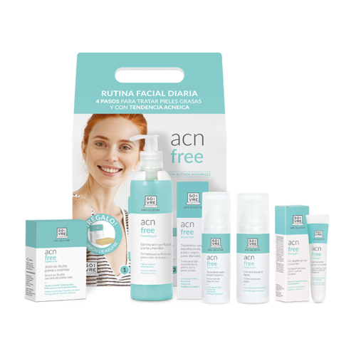 Pack rutina ACN Free Soivre Cosmetics